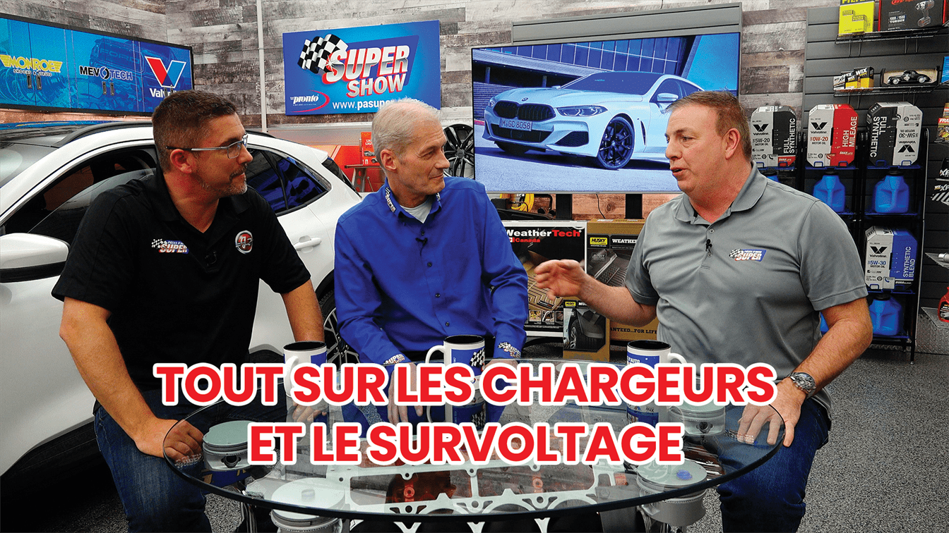 SuperShow BMW et chargeurs intelligents